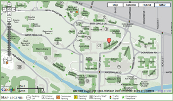 CLICK for an interactive map of campus.